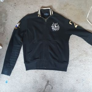 Polo by Ralph Lauren zip up collared sweater